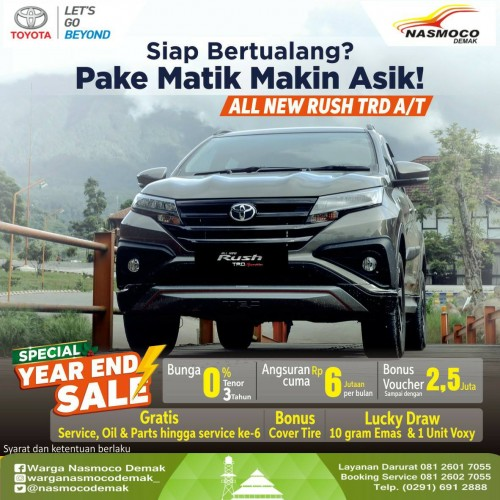 Promo Kredit Toyota Rush Demak